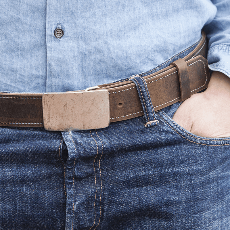 haeute leather belt man, made in germany füssen bavaria, klatt haas, 4 cm, 1.6 inch, Belt, real leather, buckle, leather belt, man, handcraft, genuine leather, reversible, can be used on two sides, Jeans